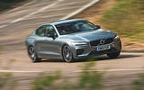 Volvo S60 T5 2019 UK first drive review - hero front