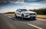 Volvo V60 D4 Inscription 2018 UK first drive review hero front