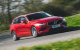 1 Volvo V60 B3 Momentum 2021 UK first drive review hero front