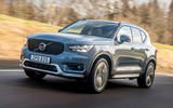 Volvo XC40 Recharge T5 2020 first drive review - hero front