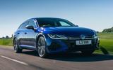 1 VW arteon R Shooting Brake 2021 UK FD hero front