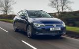 1 VW Golf Estate 2021 UK FD hero front