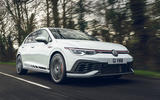1 VW Golf GTI Clubsport 2021 UK first drive review hero front