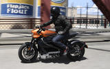 Brembo brakes and Showa suspension help hide the Harley Davidson Livewire's 251kg