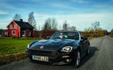 Fiat 124 Spider heads to the Arctic Circle