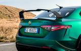 10 Alfa Romeo Giulia GTAm 2021 FD rear badge