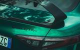 10 Alfa Romeo GTAm 2021 UK LHD fd rear badge