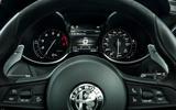 Alfa Romeo Stelvio Quadrifoglio 2018 UK RHD first drive - instrument cluster