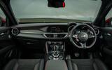 Alfa Romeo Stelvio Quadrifoglio 2020 UK first drive review - dashboard