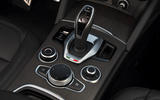 Alfa Romeo Stelvio Ti 2019 first drive review - centre console