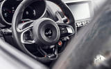 Alpine A110S 2019 first drive review - steering wheel