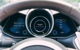 Aston Martin DBS Superleggera Volante 2019 UK first drive review - instruments