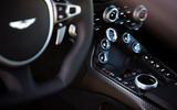 Aston Martin Vantage centre console