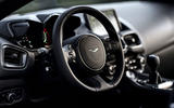 Aston Martin Vantage manual 2019 first drive review - steering wheel