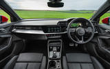 Audi A3 TFSIe 2020 UK first drive review - dashboard