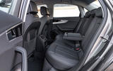 Audi A4 2019 first drive review - rear seats