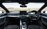 Audi A5 Coupe 2020 UK first drive review - cabin