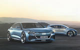 Audi A9 E-tron render - static front