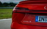 Audi E-tron S Sportback 2020 first drive review - rear LED strip