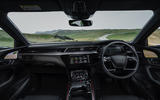 Audi E-tron Sportback 55 2020 UK first drive review - dashboard