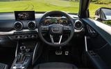 Audi Q2 35 TFSI Sport 2020 UK first drive review - dashboard