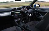 Audi Q3 Sportback 2019 UK first drive review - dashboard
