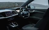10 Audi Q4 etron 2021 UK FD dashboard