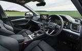Audi Q5 40 TDI Sport 2020 UK first drive review - dashboard