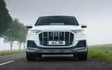 10 Audi Q7 TFSIe 2021 UK FD on road nose
