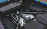 Audi R8 2019 UK first drive review - engine