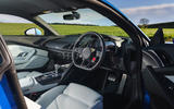 Audi R8 RWD 2020 UK first drive review - cabin