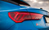 Audi RS Q3 Sportback 2019 UK first drive review - rear lights
