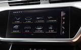 Audi S6 Avant TDI 2019 UK first drive review - infotainment