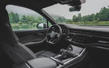 Audi SQ7 2020 first drive review - dashboard