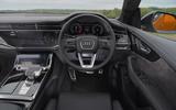 10 Audi SQ8 2021 UK FD dashboard
