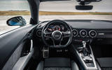 Audi TTS 2018 first drive review dashboard