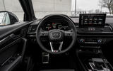 10 Audi SQ5 2021 first drive review dashboard