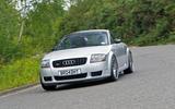 Audi TT 1.8 T 240 Sport quattro - tracking front