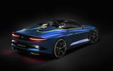 Bentley Bacalar Menlo 2020 - static rear