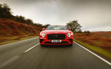 Bentley Continental GT V8 2020 UK first drive review - on the road nose