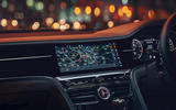 10 Bentley Fyling Spur V8 2021 UK review infotainment