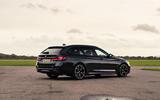 10 BMW 5 Series Touring 530d 2021 UK FD static rear