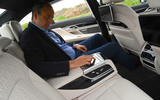 BMW 7 Series 740Ld long-term review Frankel rear seats
