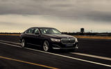 BMW 7 Series 745e 2019 first drive review - on the road front