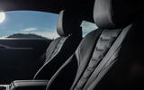 BMW 840d 2019 first drive review - front seats