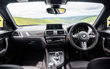 BMW M2 CS 2020 UK first drive review - dashboard