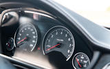 BMW M3 CS 2018 review instrument cluster