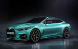 BMW M4 render 2020 - static front