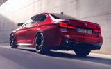 BMW M5 2020 - hero rear