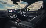 BMW M5 Competition 2020 UK first drive review - dashboard